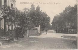 78 - ACHERES - La Porte Neuve Et L' Entrée De La Forêt - Acheres