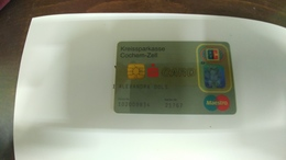 Germany-credict Card-(515)-(21767-9834)-used Card+1 Card Prepiad Free - Geldkarten (Ablauf Min. 10 Jahre)