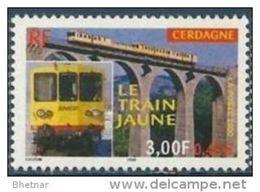 "Timbre France YT 3338 "" Le Train Jaune De Cerdagne "" 2000 Neuf - Unused Stamps"