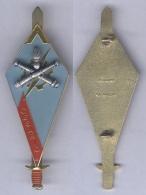 Insigne De La Promotion Adjudant Césario De L'Ecole Nationale Technique Des Sous Officiers D'Active - Army