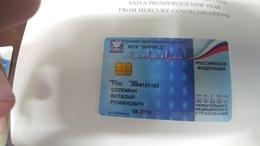 Russia-credict Card-(521)-(3004121192-7101)-used Card+1 Card Prepiad Free - Geldkarten (Ablauf Min. 10 Jahre)