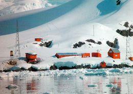1 AK Antarctica Antarktis * Blick Auf Die Argentinische Station Almirante Brown - Paradise Bay * - Ansichtskarten