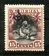 Liberia 1909 - Michel Nr. Dienst 60 * - Liberia