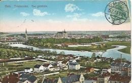 TP 83 Du Reich Seul Sur Carte Postale De Metz Pour Paris - Elzas-Lotharingen