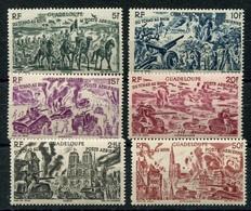 RC 7014 GUADELOUPE PA 7 / 12  - SERIE DU TCHAD AU RHIN COTE 13,00€ NEUF ** TB - Guadeloupe (1884-1947)