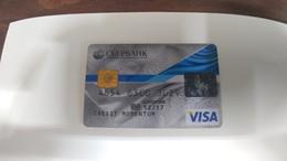 Russia-credict Card-(530)-(9880-463)-used Card+1 Card Prepiad Free - Geldkarten (Ablauf Min. 10 Jahre)