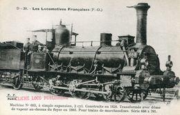 Les Locomotives Francaises PO 39 Machine 683 A Simple Expansion Pour Trains De Marchandises Serie 658 à 791 - Eisenbahnen