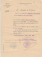 GENDARMERIE - RETRAITE - 1920 - Vieux Papiers