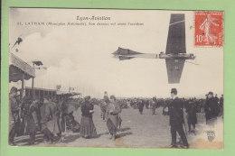 Lyon Aviation : Latham, Son Dernier Vol Avant L'Accident, Monoplan Antoinette. 2 Scans. Edition Farges - Aviatori