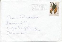 Vatican Cover Sent To Denmark 6-5-1995 Single Franked - Vatikan