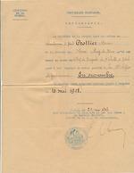 GENDARMERIE - NOMINATION - 1918 - Vieux Papiers