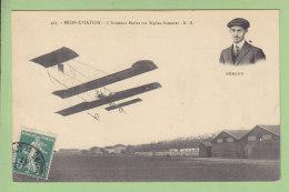 Bron Aviation : L'Aviateur Berlot Sur Biplan Sommer. 2 Scans. Edition E R - Aviatori