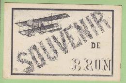 Bron Aviation : Souvenir De Bron, Biplan Maurice Farman. 2 Scans. Edition AV - ....-1914: Vorläufer