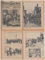 Reliure Courrier De Guerre 1914/18 - War 1914-18