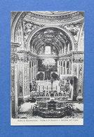 Cartolina Badia Di Montecassino - Tomba Di S. Benedetto E Cattedrale Dell'Organo - Frosinone