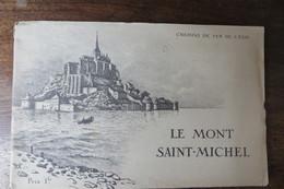 MONT SAINT MICHEL EDITE CHEMIN DE FER DE L'ETAT - Historical Documents