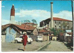 Macedonia Skopje Clock Mosque.Fiat.girl - Macédoine