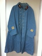 Manteau Bleu Horizon De Commandant  Médecin - 1914-18