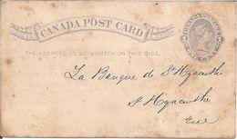 CP 1886 Pour St Hyacinthe - Postal History