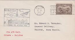 CANADA 1929 PLI AERIEN DE OTTAWA - Storia Postale