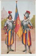 191-Mestieri-Militaria-Gendarmeria-Guardie Svizzere Papali-Vaticano-Roma-v.1934 X Catania - Polizia – Gendarmeria