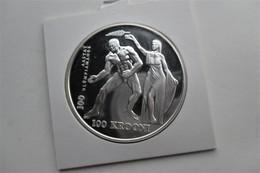 ESTONIA 100 KROONI 1996 OLYMPICS Wrestler - Estonia