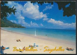 °°° 10592 - SEYCHELLES - BEAU VALLON - MAHE - With Stamps °°° - Seychelles