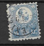 1871 USED Hungary, Expertisized Zenker - Gebraucht