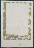 (*) 1968 Festmények V. 1Ft Az Arany Keret Gépszínátnyomatával / Mi 2467 With Machine Offset Of The Gold Frame - Stamps