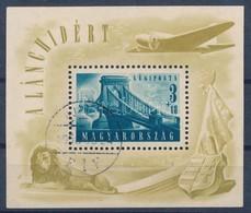 O 1948 Lánchíd II. Blokk (30.000) - Stamps