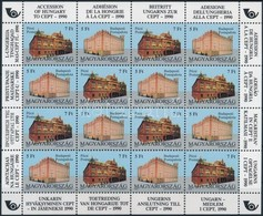 ** 1991 Magyarország Csatlakozása A CEPT-hez Teljesív (20.000) - Stamps
