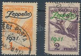 O 1931 Zeppelin Pár (24.000) - Stamps