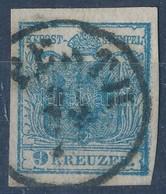 O 1850 9kr HP Látványos ívszéli Nyomat - Stamps