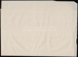 A/2 Hajtott ív Bélyegpapír IX. Vízjellel / A/2 Folded Sheet Of Stamp Paper With Watermark IX. - Stamps