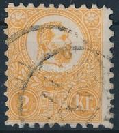 O 1871 Kőnyomat 2kr (pici Elvékonyodás) - Stamps