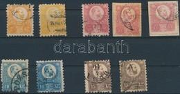 O 1871 Réznyomat 9 Db Bélyeg Szép Minőségben, Színváltozatokkal (15.000) - Stamps