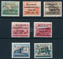 ** 1956 Soproni Kiadás 7 értékes Sor (12.000) - Stamps