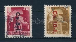 O 1946 Cs.5-I- + Cs.10-I. (18.000) - Stamps