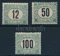 * 1905 Zöldportó ,,A' 12f, 50f, 100f (14.500) - Stamps