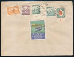 1922 Légi Levél Párizsba - Stamps
