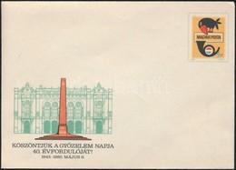 1985 A Győzelem Napjának 40. évfordulója Díjjegyes Boríték, Használatlanul, Nagyon Ritka! - Stamps