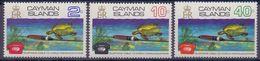 CAIMAN ISLANDS :1972 : Y.299-301 Dentelled/neufs/MNH : TELEPHONE,COMMUNICATION,TURTLE, - Iles Caïmans