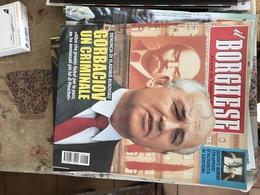 IL BORGHESE GORBACIOV UN CRIMINALE - Riviste & Giornali