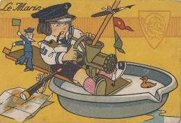 """Chromos - Militaria - Enfant - Marine - Publicité Magasin Gobert-Martin """"A Réaumur"""" Paris - Other"""