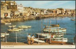 St Ives Harbour, Cornwall, C.1960s - Jarrold Postcard - St.Ives