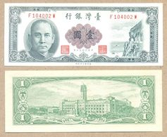 CHINA Taiwan 1 Yuan 1961  P1971  UNC - Taiwan