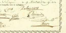 Armee D''Italie - CODOGNE 1801 - 25e De Legere - Generaux GODINOT (1765-1811) Et Felix (1763-1839) - Documentos Históricos
