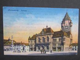 AK KORNEUBURG Rathaus 1914 Feldpost//  D*30025 - Korneuburg