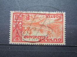 "VEND TIMBRE DE GUYANE N° 123 , OBLITERATION "" KOUROU "" !!! - Französisch-Guayana (1886-1949)"