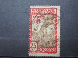 """VEND TIMBRE DE GUYANE N° 116 , OBLITERATION """" ST-LAURENT DU MARONI """" !!! - Französisch-Guayana (1886-1949)"""
